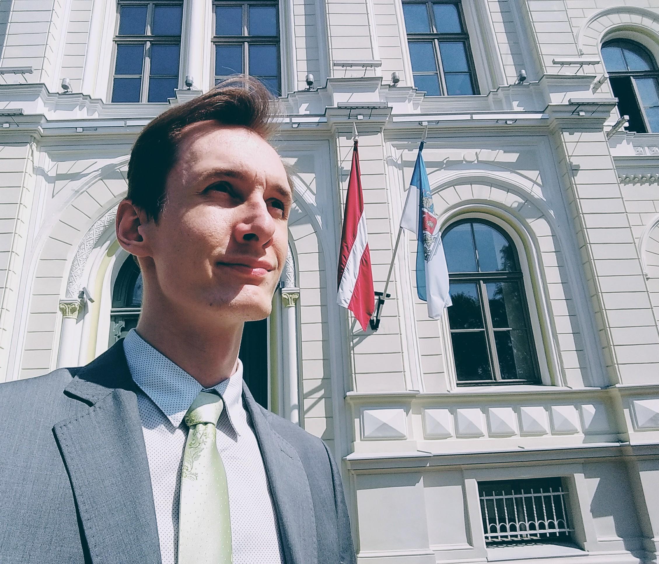 Modris Apse vizīte izglītības iestādē
